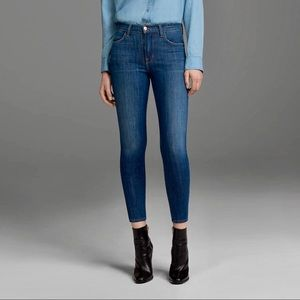 J Brand Alana High Rise Crop in Thrill Jeans